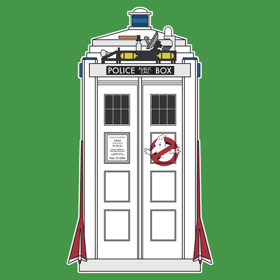 The 'Busters have the Phonebox