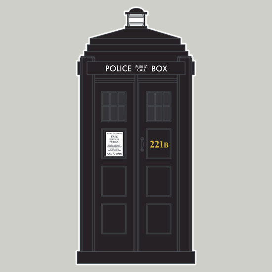 """""""The Detective has the phonebox.."""