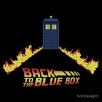 Back to the Blue Box Tshirt