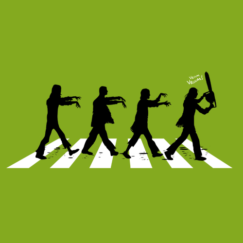 Zombies on Abbey Road