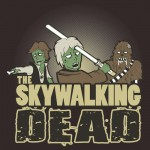 The Skywalking Dead Tshirt