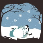 Fate of a Ninja Snowman Tshirt