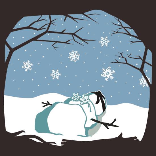 Fate of a Ninja Snowman