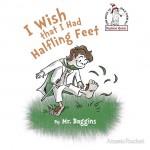 Halfling Feet Tshirt