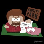 South Parks and Rec Tshirt