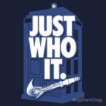 Just Who It. Tshirt