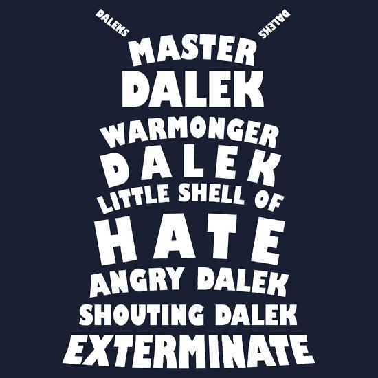 Master Dalek ('Soft Kitty' style) WHITE