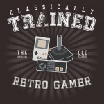 Classically Trained Retro Gamer Tshirt