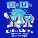 W&W's Crystal Blue Candy Tshirt