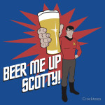Beer Me Up Scotty Tshirt