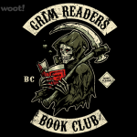 Grim Readers Book Club Tshirt