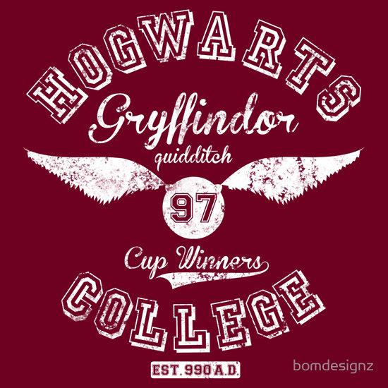 Hogwarts College Gryffindor 1997 Quidditch cup winners