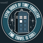 Time Travel is Cool Tshirt