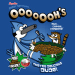 Regular OOOOOOH's Cereals Tshirt