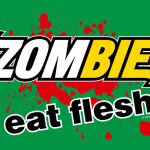 Zombie Eat Flesh Tshirt