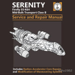 Serenity Service and Repair Manual Tshirt