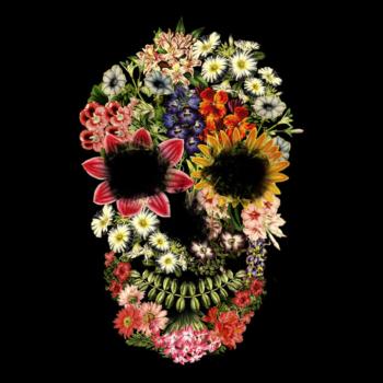 teefury-floral-skull-vintage