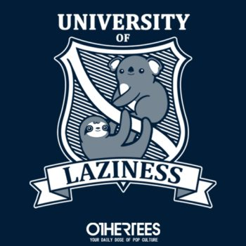 othertees-university-of-laziness